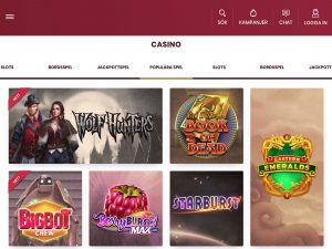 Screenshot Cherry Casino