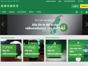 Screenshot Unibet