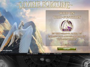 Screenshot Divine Fortunes