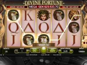 Screenshot Divine Fortune
