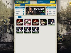 Screenshot Svea Casino