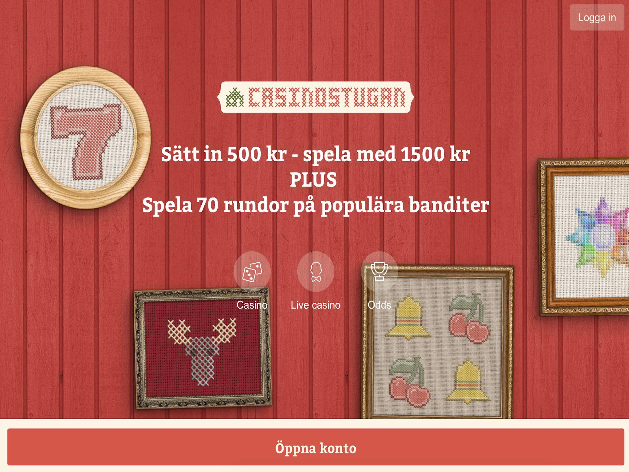 Casinostugan Bonus