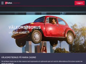 Screenshot Maria Casino