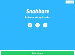 Screenshot Snabbare Casino