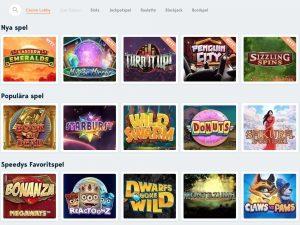 Screenshot Speedy Casino