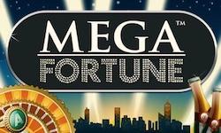 Logga för Mega Fortune