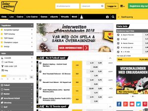 Screenshot Interwetten