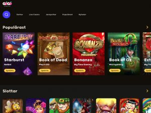 Screenshot GoGo Casino