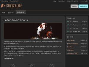 Screenshot Storspelare