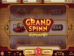 Screenshot Grand Spinn Superpot
