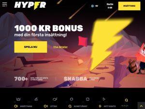 Screenshot Hyper Casino