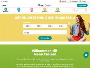 Screenshot Nano Casino