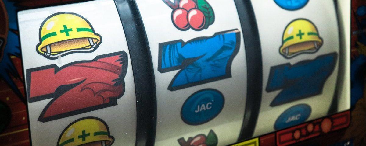 Hjul på en spelautomat
